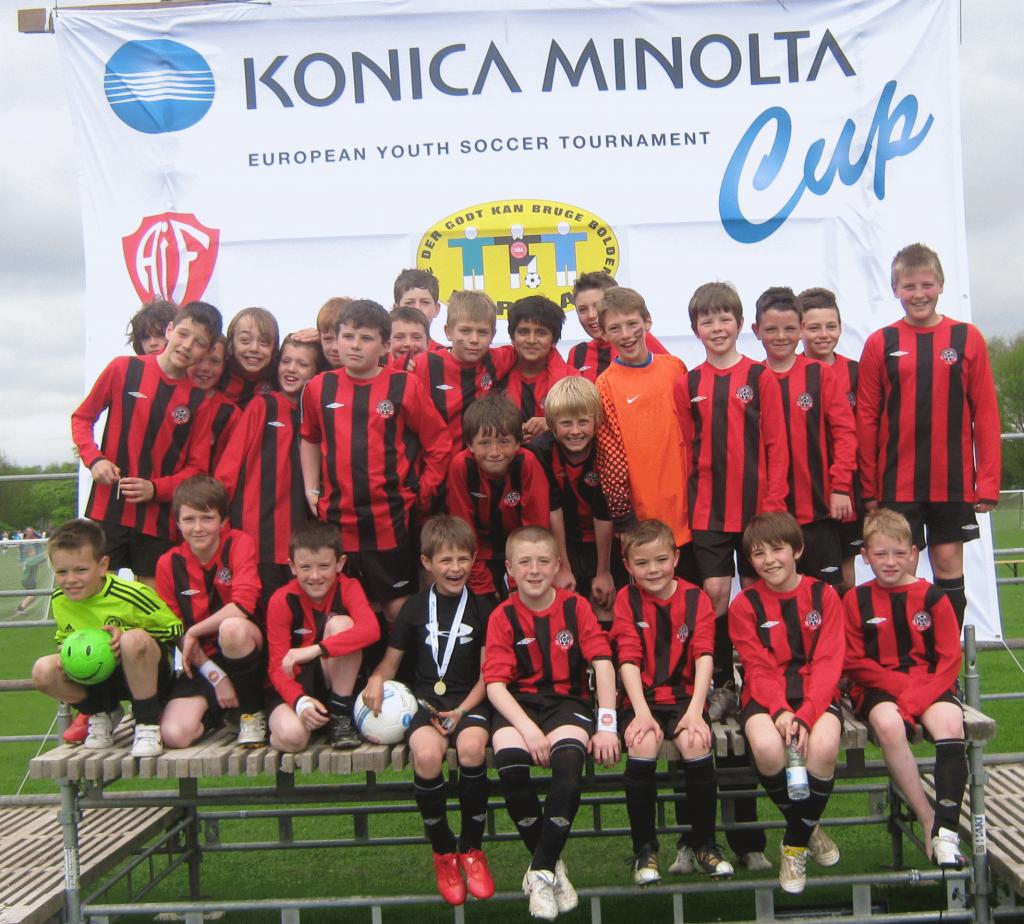 1999's Konica Minolta Cup  Team 2010