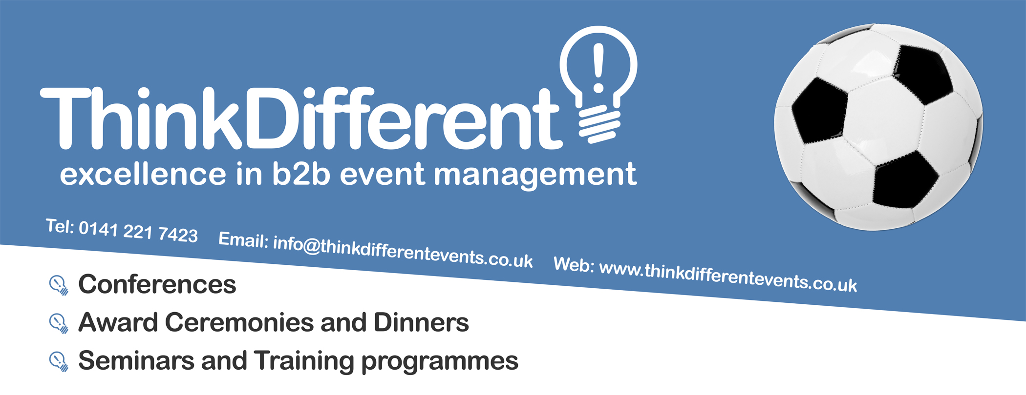 Think Different Events