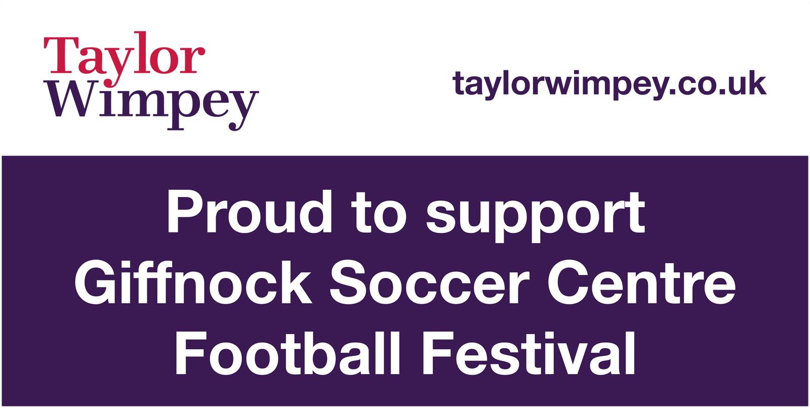 TWWS Giffnock Soccer Centre Banner